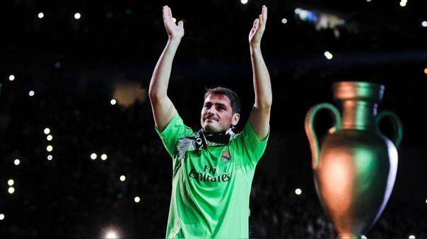 Iker Casillas ganó tres Champions League con Real Madrid
