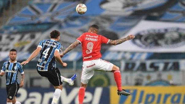 Inter de Porto Alegre cayó 2-0 a Gremio