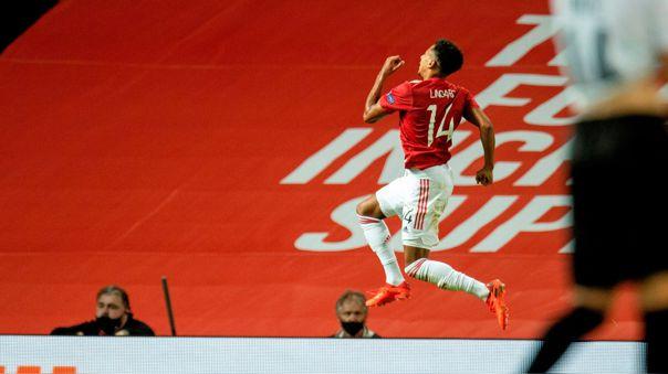 Para salvar al United: el gol de Jesse Lingard ante el LASK por la Europa League