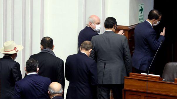 Congreso de la República denegó el voto de confianza.