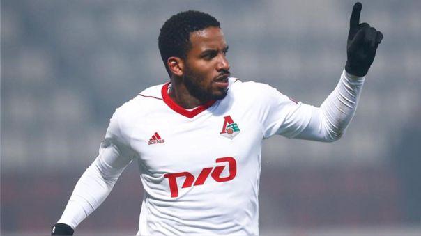 Jefferson Farfán llegó a Lokomotiv en 2017