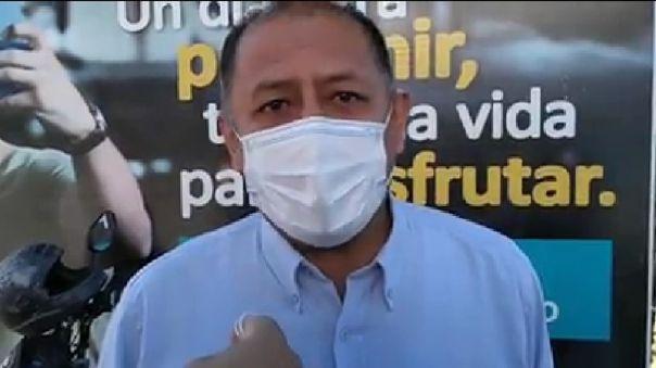 Director Regional de Salud manifestó que no hay espacio para enterrar a los fallecidos por la COVID-19.