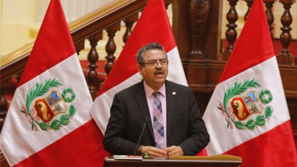 El presidente del Congreso se pronunció tras la negación al voto de confianaza al gabinete de Pedro Cateriano.
