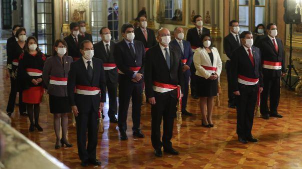 Gabinete ministerial de Walter Martos
