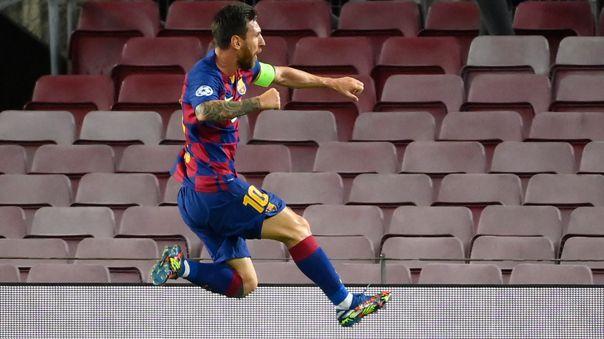Lo marcaba 4 y los pasó a todos: el golazo de Messi al Nápoli por la Champions