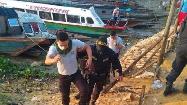 Heridos en enfrentamiento fueron evacuados en lanchas.