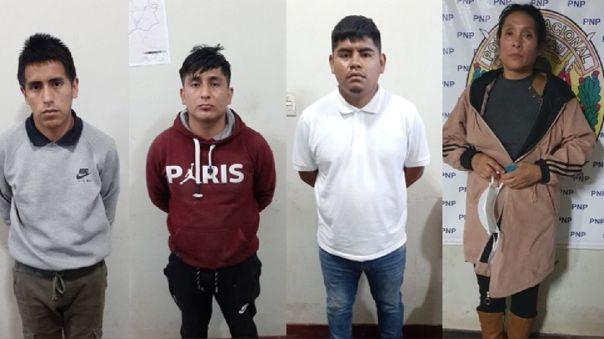 Detenidos Otuzco