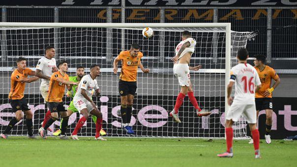 A 2 minutos del final: Lucas Ocampos le dio el triunfo al Sevilla en la Europa League