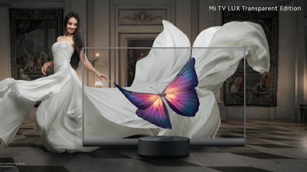 Questa è la Mi TV LUX, la prima TV OLED trasparente dell'azienda