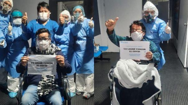 pacientes recuperados