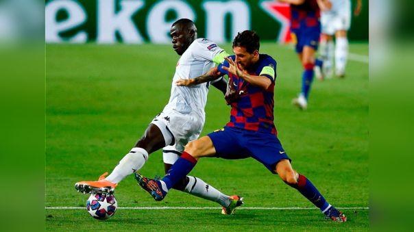 Novedades: el último reporte sobre Messi tras la patada que recibió de Koulibaly en la Champions