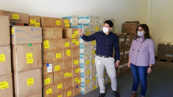 Arequipa recibió donación.