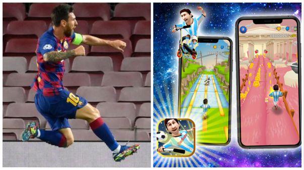 Un juego para el móvil tiene como premio conocer a Messi