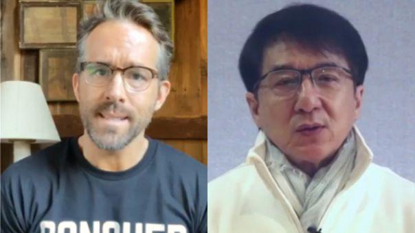 Ryan Reynolds y Jackie Chan