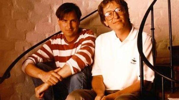Jobs y Bill Gates