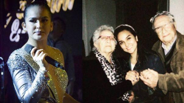 Fallece abuelo de Daniela Darcourt.