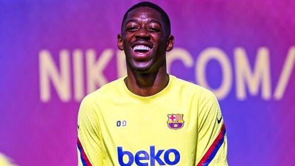 Ousmane Dembelé no juega desde el 27 de noviembre de 2019