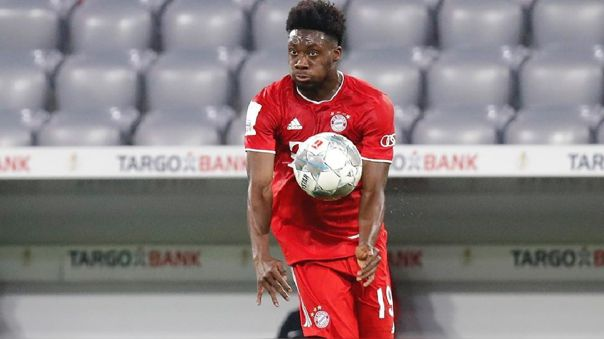 Alphonso Davies debutó con Bayern Munich en 2019