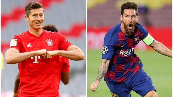 Messi y Lewandowski se enfrentarán en cuartos de final de la Champions League