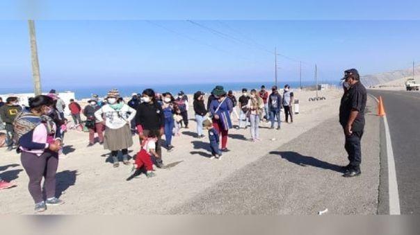 Pobladores se oponen a que fallecidos por la COVID-19 sean enterrados en cementerio de la localidad.