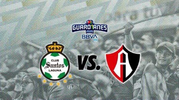 Santos vs. Atlas por la fecha 5 de la Liga MX