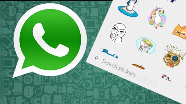 WhatsApp alista un metabuscador de stickers
