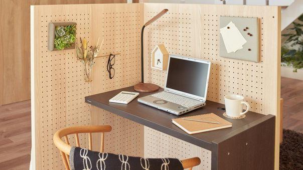 Komoro permite crear un espacio personalizado en la sala.