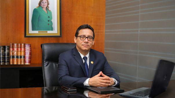 Dr. Erick Salazar Montoya, vicerrector académico de la Universidad Señor de Sipán.