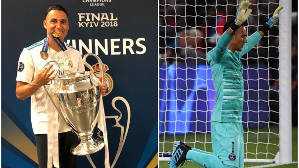 Keylor Navas ganó tres Champions League con el Real Madrid