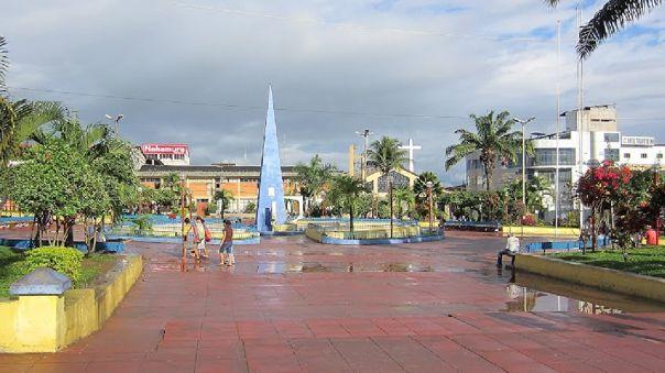 Plaza de armas de Tarapoto