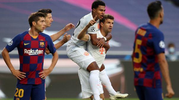 Bayern Munich goleó al FC Barcelona | Foto: Rafael Marchante (AFP) |