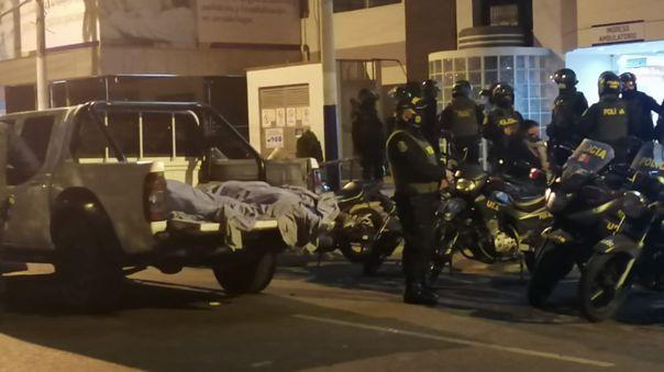Durante la intervención a la discoteca de Los Olivos, trece personas perdieron la vida al intentar huir del lugar.