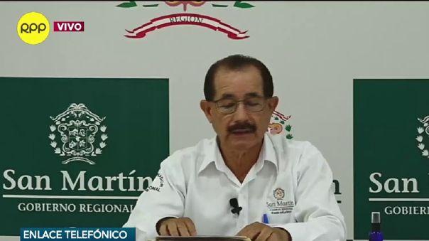 Gobernador regional pide que se deje sin efecto la cuarentena en esta región.