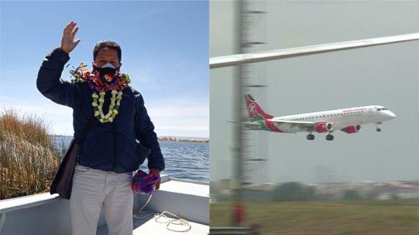 El congresista expresó que las avionetas estarían esparciendo el nuevo coronavirus en Puno, región a la que representa.