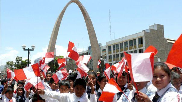 Hoy se conmemoran 91 años de la reincorporación de Tacna al Perú.