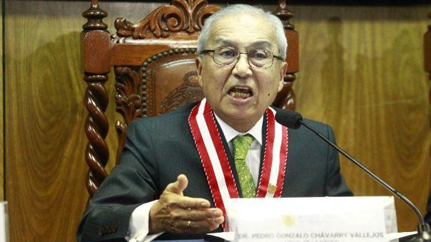 Pedro Chávarry es suspendido.