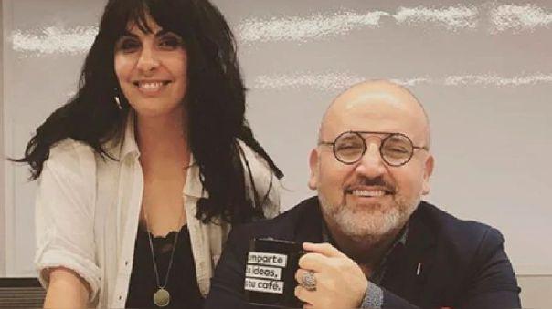 Carla García y Beto Ortiz