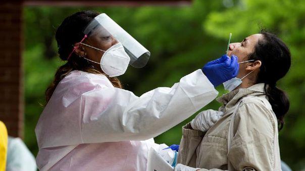 Hasta el mediodía, Estados Unidos sumaba 6 millones 002 615 casos confirmados de coronavirus