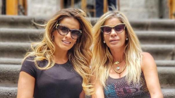 Alejandra Baigorria se quiebra por la salud de su mamá