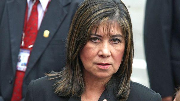 La congresista tuvo fuertes palabras contra Vicente Zeballos por su designación como representante en la OEA.