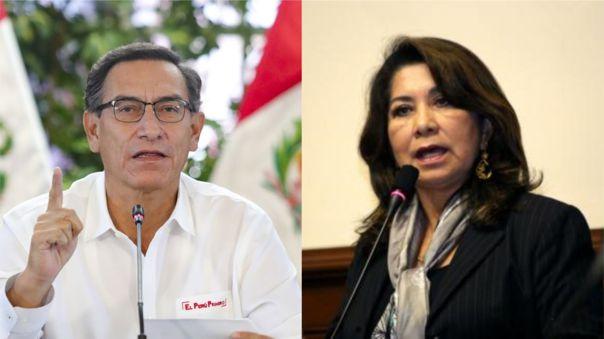 El presidente tuvo duras palabras hacia la congresista, quien criticó la designación de Zeballos como representante del país ante la OEA.