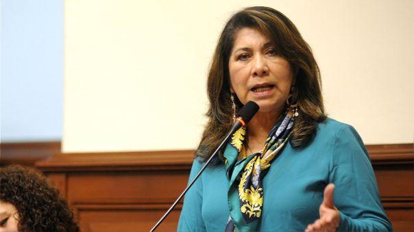 La congresista tuvo desafortunados comentarios sobre el nuevo cargo de Vicente Zeballos.