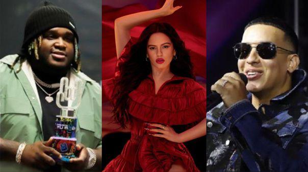 Sech, Rosalía y Daddy Yankee