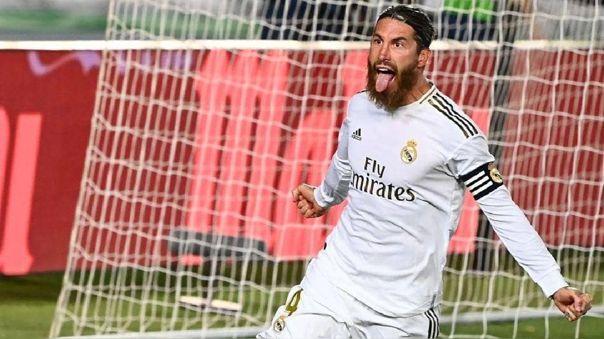 Sergio Ramos es el capitán del Real Madrid desde la marcha de Casillas