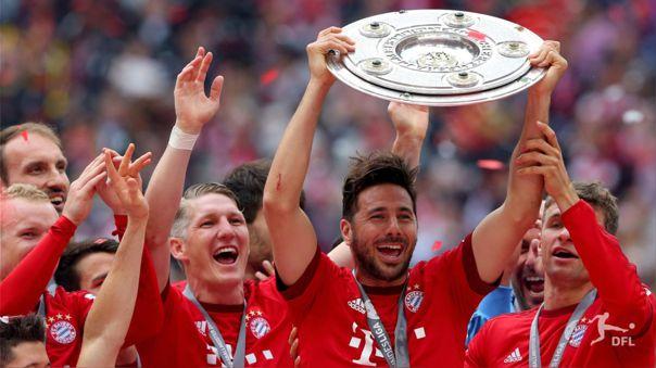 Claudio Pizarro ganó el triplete en 2013 con Bayern Munich