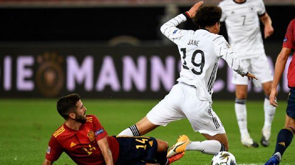 España vs. Alemania - UEFA Liga de Naciones