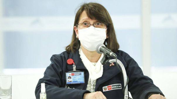 La ministra de Salud estuvo este viernes en La Libertad y reveló que han traído a la región 30 toneladas de equipos de protección para el personal.