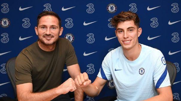 Kai Havertz firmó con Chelsea por 5 temporadas