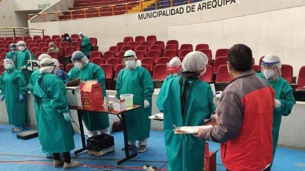 Hospital Honorio Delgado Espinoza.