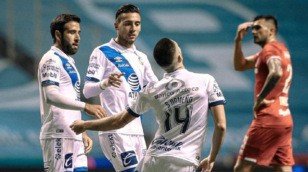 Santiago Ormeño lleva cuatro goles en el Apertura de la Liga MX